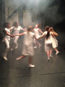 Progetto Educativo di Espressione Corporea in collaborazione con l'Associazione Teatro2. Scuola secondaria di primo grado Monteverdi, Milano 2013-2014.